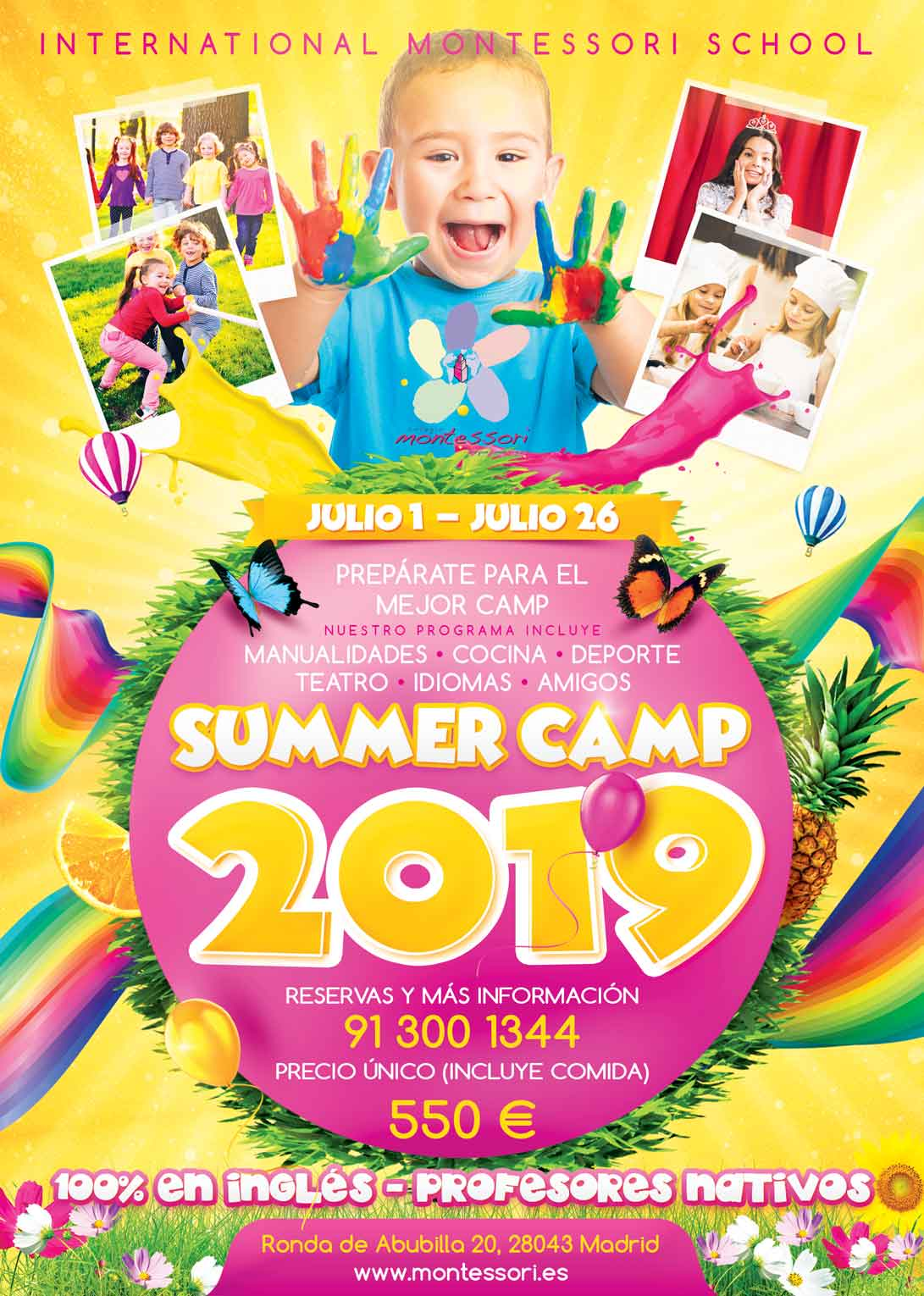 Summer Camp Colegio Montessori