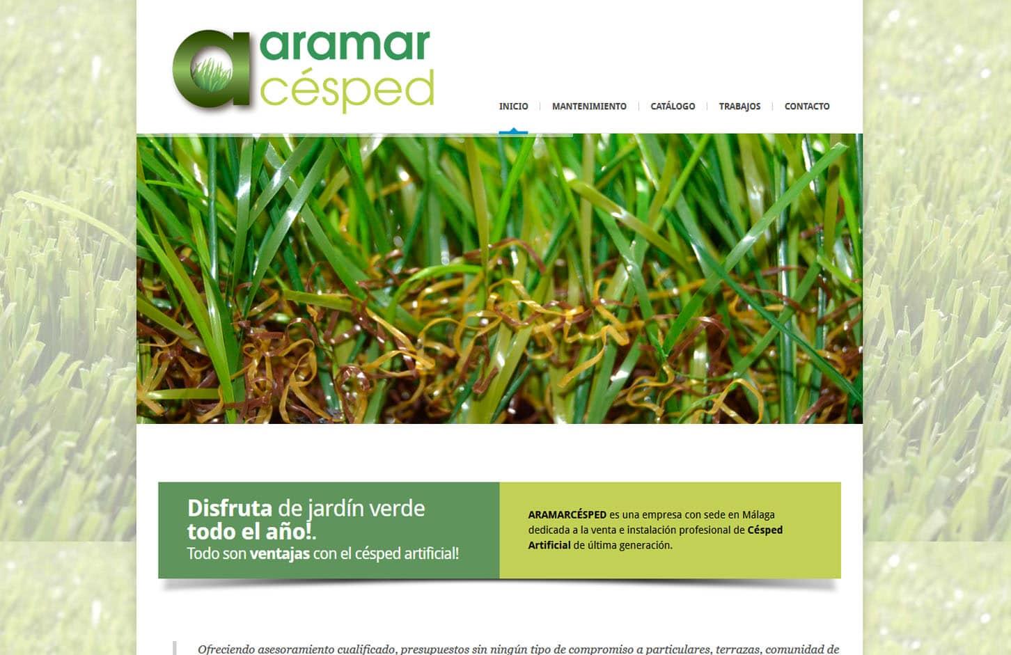 Aramar Césped